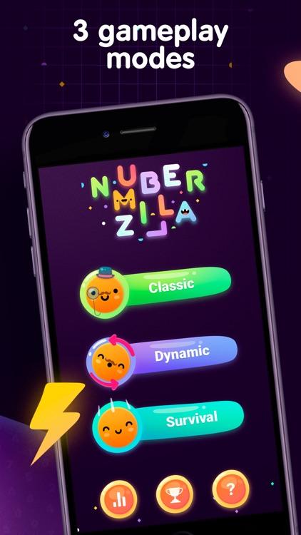 Numberzilla - Number Math Game screenshot-3