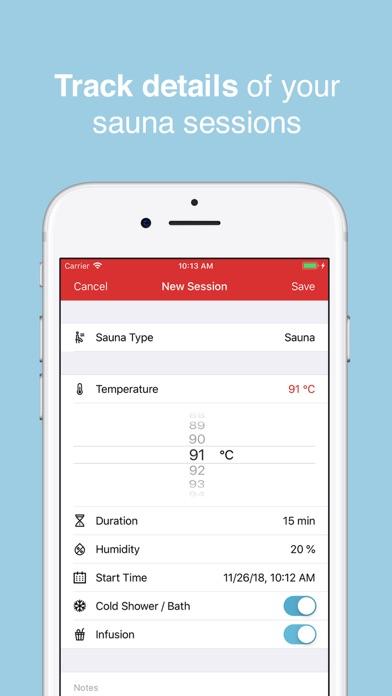 HotLog - Sauna Session Trackerのおすすめ画像3
