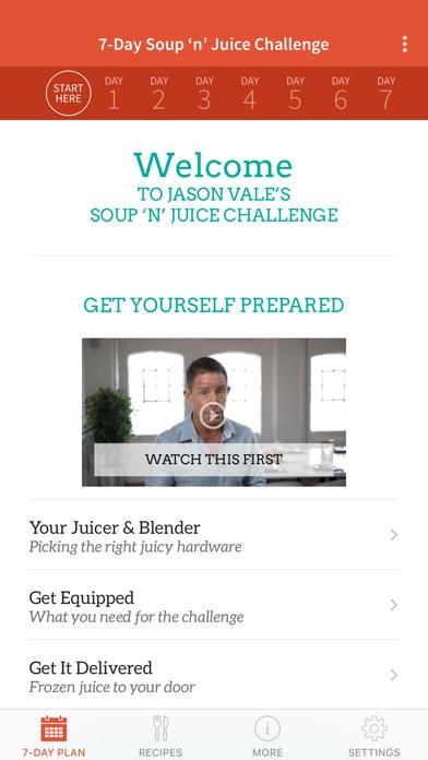 Jason's Soup + Juice Challengeのおすすめ画像1