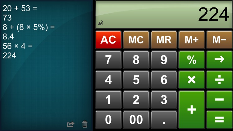 Calculator Easy HD screenshot-4