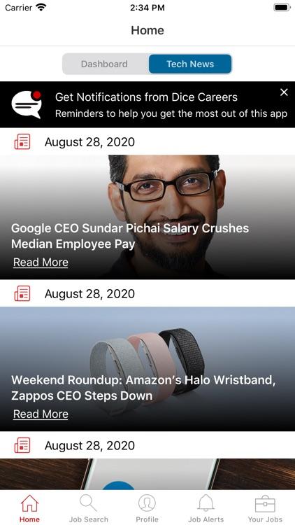 Dice Tech Jobs
