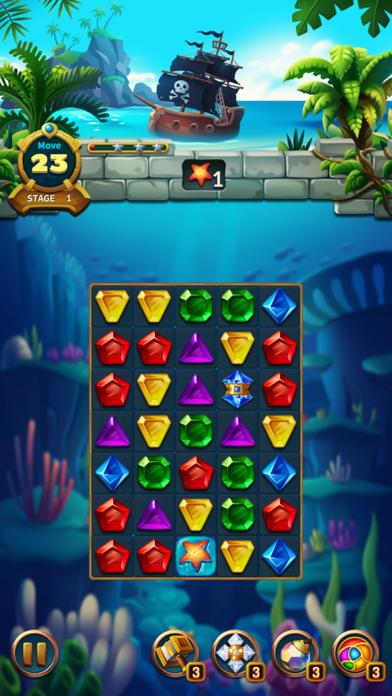 Jewels Fantasy Legend - Match3Captura de pantalla de5