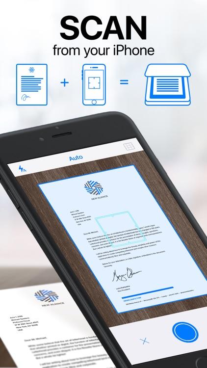 iScanner: PDF Document Scanner screenshot-0