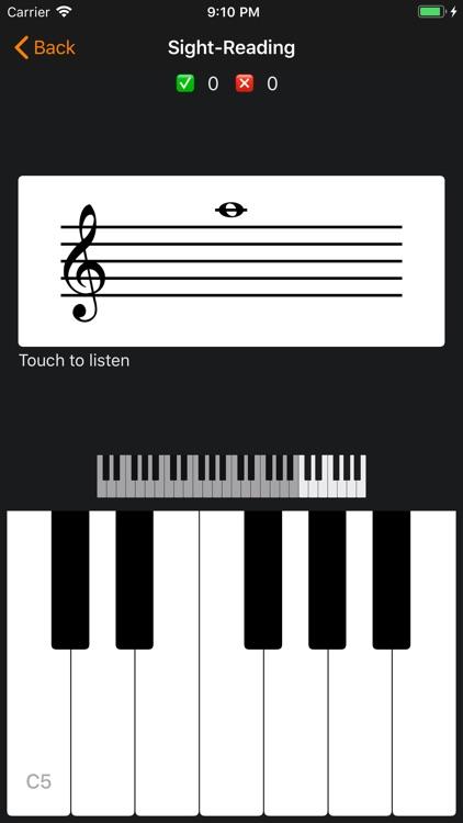 Sight-Reading (Piano) screenshot-3
