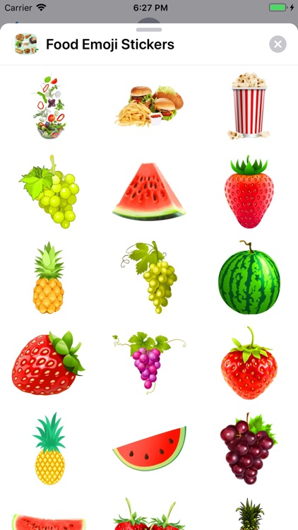 Food Emoji Stickers screenshot-7