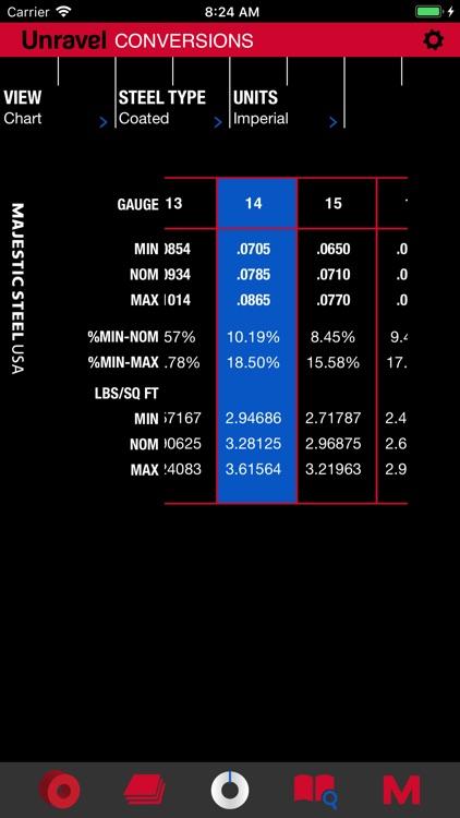 Unravel: Steel Calculator screenshot-3