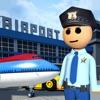 عصا رجل لعبة شرطة المطارالحدود