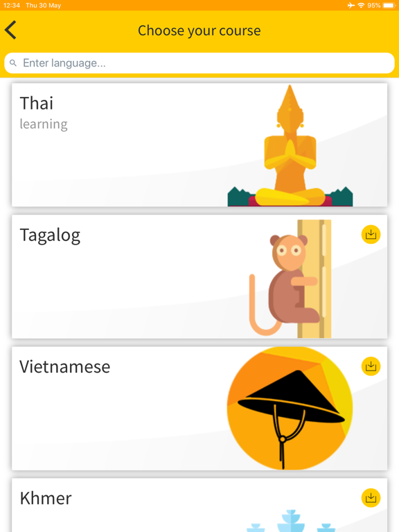 Ling App: Learn 60+ Languages screenshot