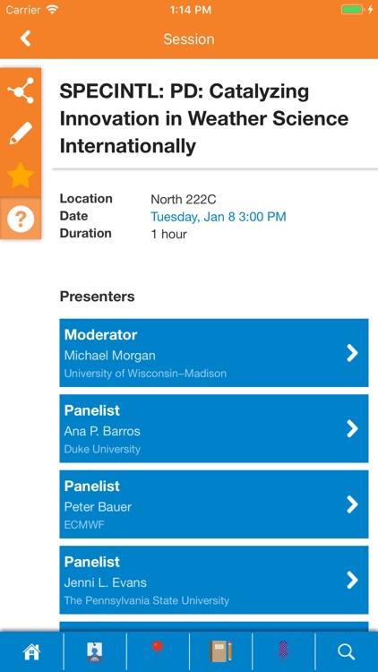 AMS Annual Meetings by American Meteorological Society