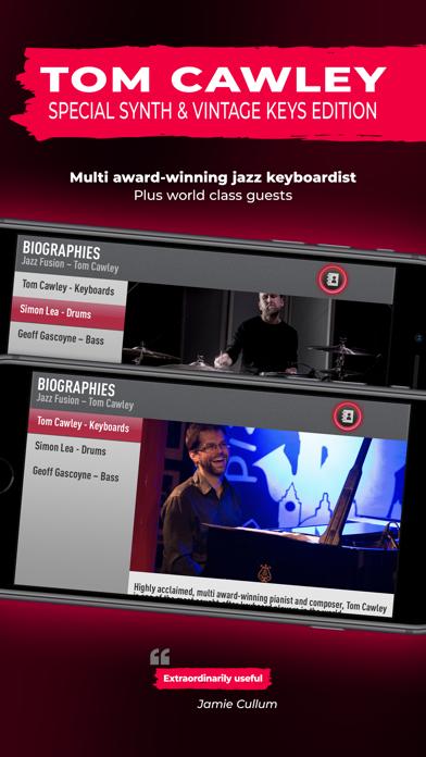 SessionBand Jazz Fusion screenshot 2
