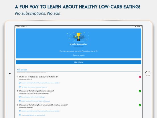 Keto Diet App Quiz   App Price Drops