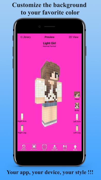 点击获取Skin Creator 3D for Minecraft
