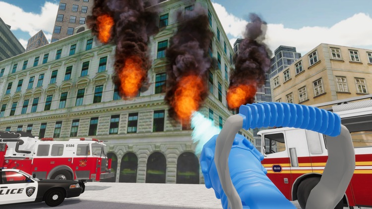 Fire Truck Game 911 Emergency screenshot-3