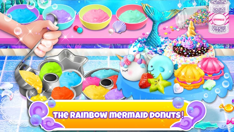 Unicorn Chef: Mermaid Cooking screenshot-3