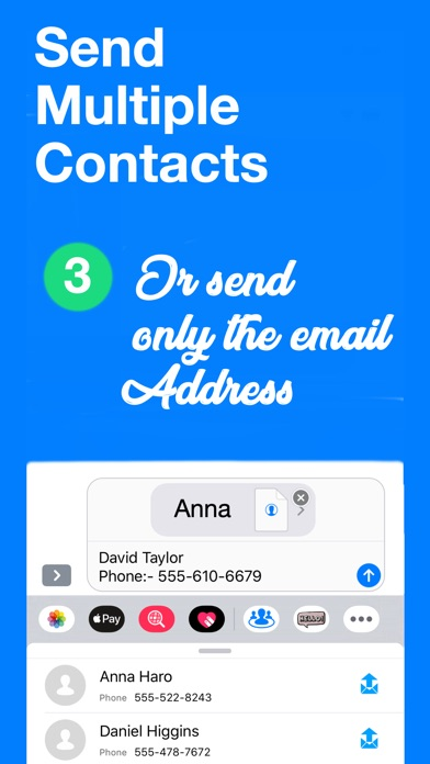 Contactor - Share Contacts screenshot 3