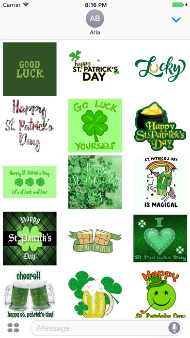 Screenshot for Animated St. Patrick's Day Gif in United States App Store