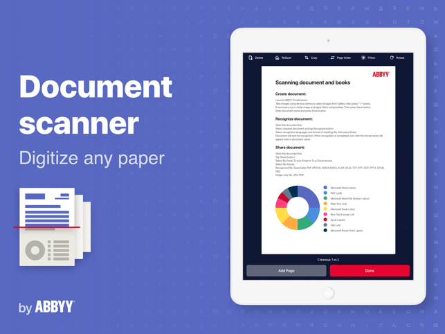 ‎FineScanner: PDF Scanner App Screenshot