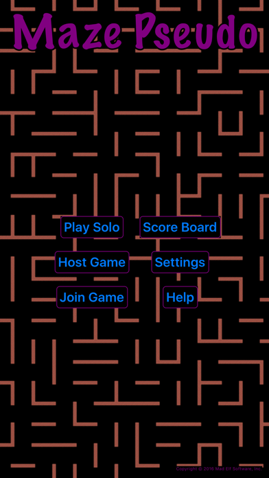 Screenshot from MazePseudo