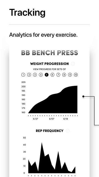 IRON Weight Lifting Tracker screenshot-6