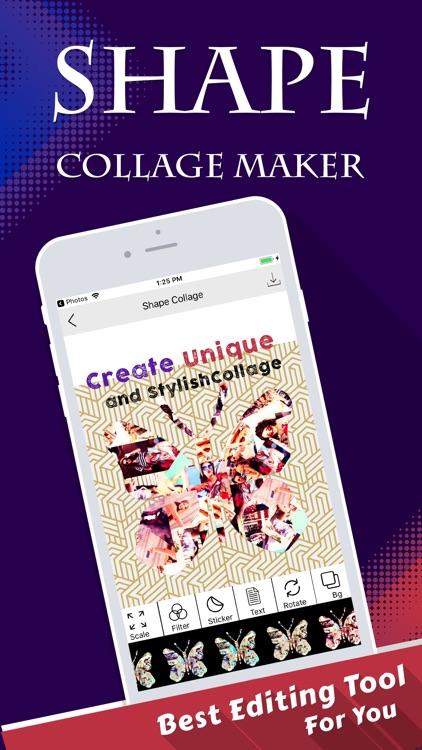 Shape Collage Maker & Editor
