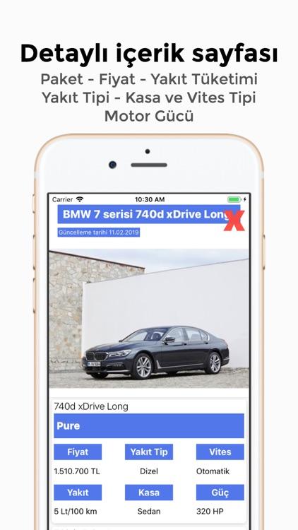 Sıfır Araba Fiyatları screenshot-3