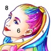 Coloring Fun : Color by Number - iPhoneアプリ