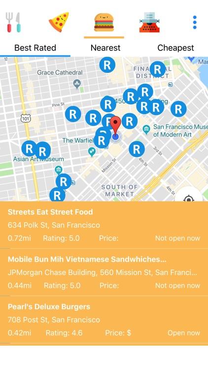 Food Easy: Restaurants. Food. screenshot-3