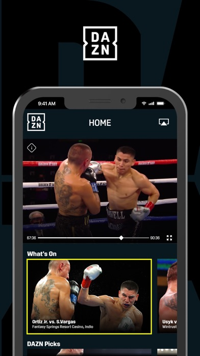 DAZN: Live Sports Streaming Screenshot