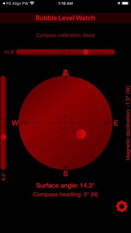 Bubble Level + Compass Pro