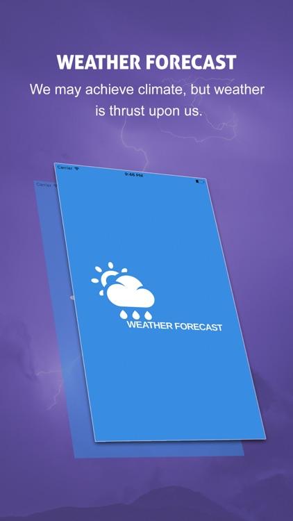 Live Weather Radar & Forecast