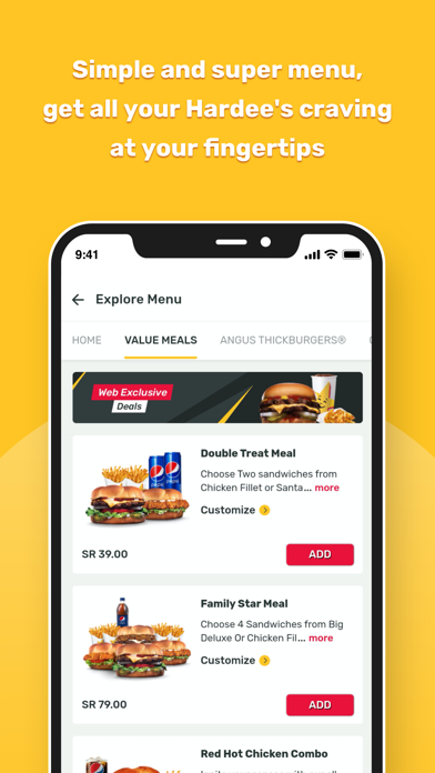 Download Hardee's KSA for Android