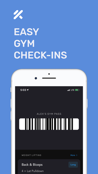 Personal Trainer – FitnessAI Screenshot
