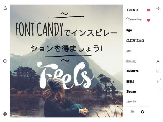 Font Candy画像 落書き: 写真加工 文字入れのおすすめ画像3