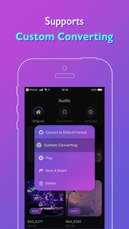 Audic - Audio MP3 Converter