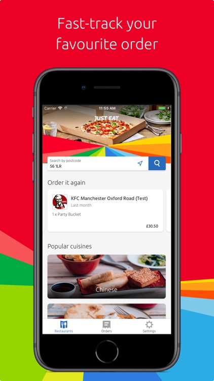 Just Eat: food delivery screenshot-0