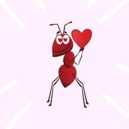 Ants Stickers