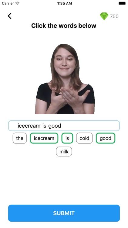 ASL Sign Langauge Pocket Sign screenshot-3