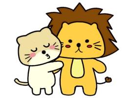 Singa Polah Lovely Stickers