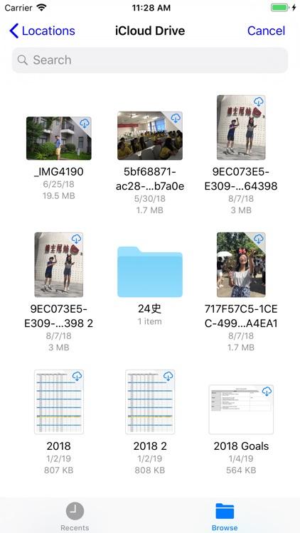iZip - Zip Unzip Unrar Tool screenshot-8