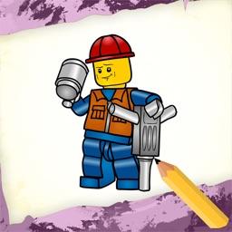 Draw Lego Bricks