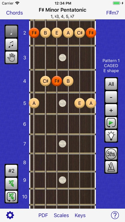 Guitar Scales & Chords Power screenshot-0
