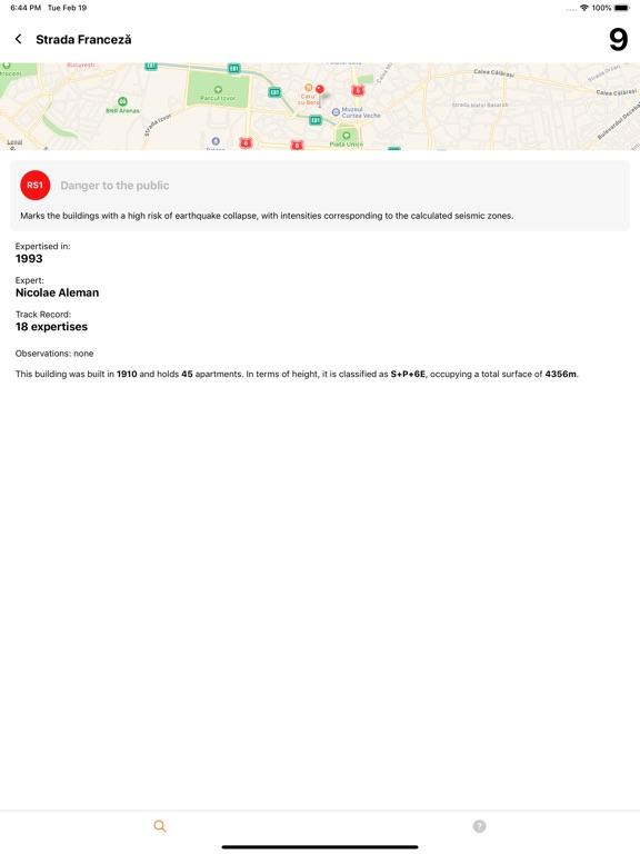 Bucharest Seismic Risk screenshot #3
