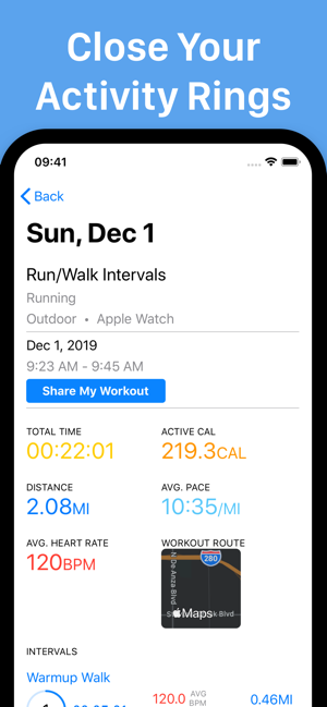 ‎Intervals Pro - Interval Timer Screenshot