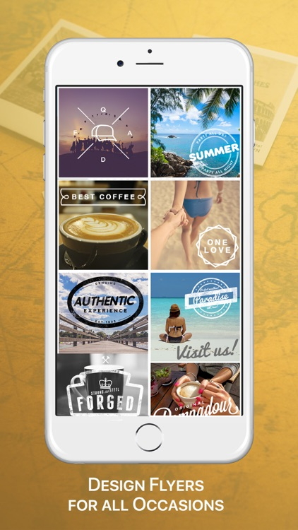 Vintage Logo & Poster Maker screenshot-1