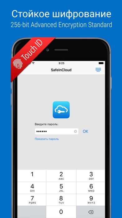 Скриншот №1 к SafeInCloud Pro