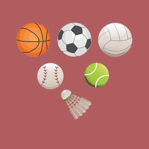 Sport stuff - stickers & emoji