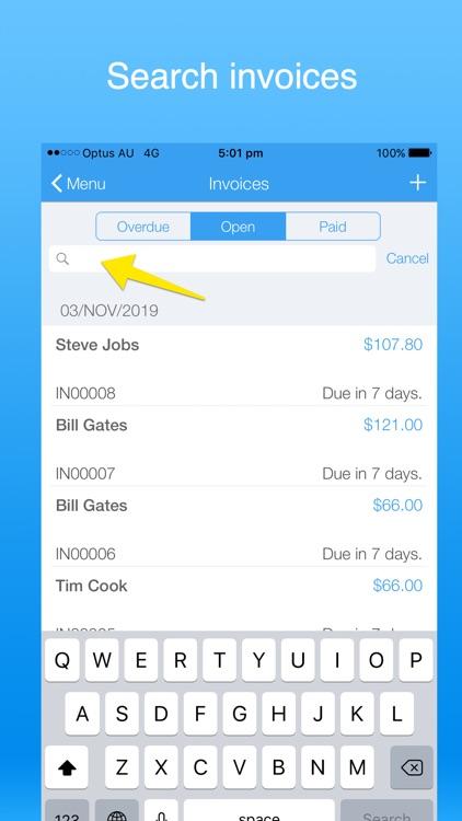 Invoice Maker Simple screenshot-6