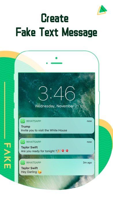 Screenshot for Fake Chat WhatsApp in Germany App Store