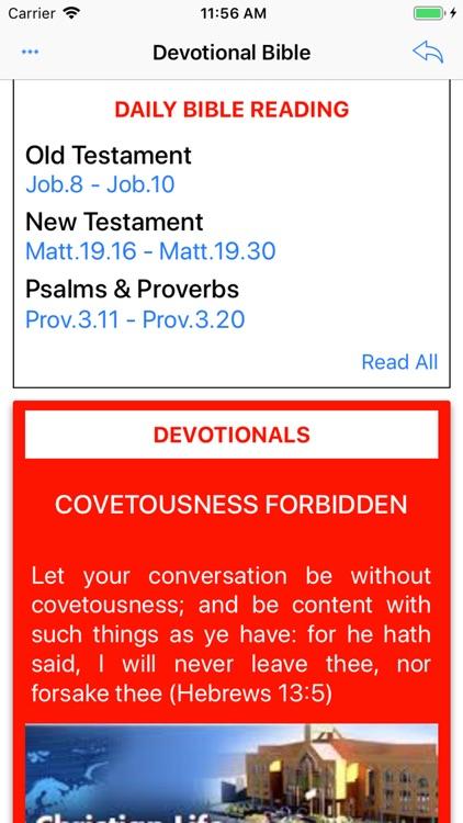 Devotional Bible -MultiVersion