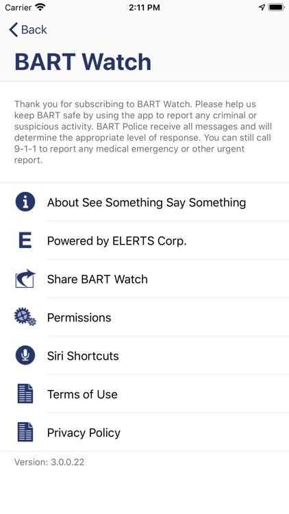 BART Watch